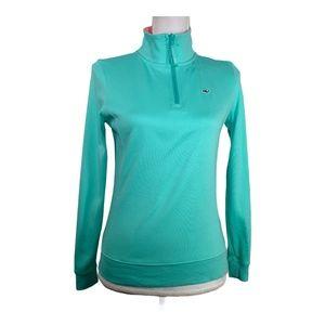 Vineyard Vines Womens Sweatshirt Size XS 1/4 Zip